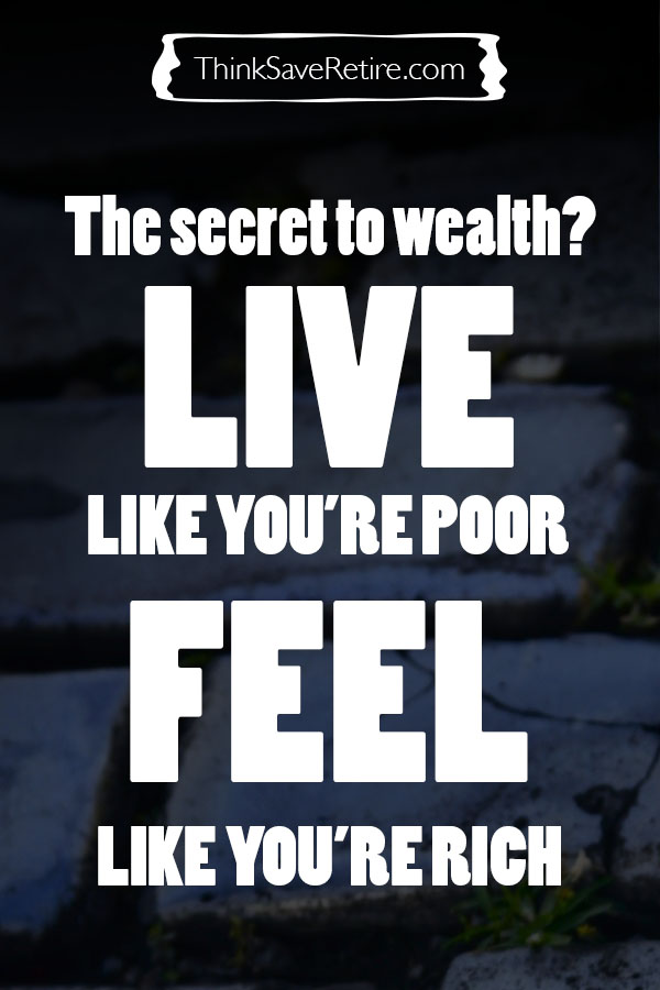 Pinterest: Live like you're poor, feel like you're rich