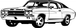 Clipart of sports car