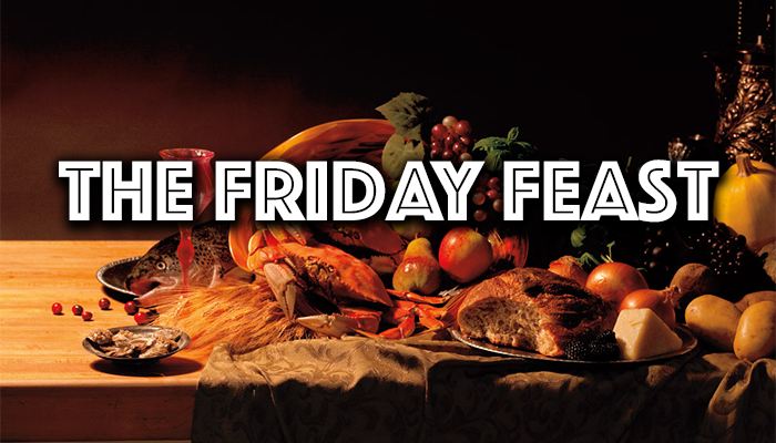 The Friday Feast ~ the 2nd of December