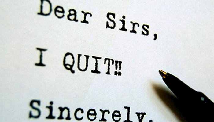 Jobs are funny things, and so is quitting!