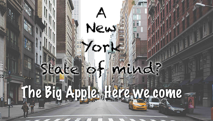 Get ready Big Apple, here we come!