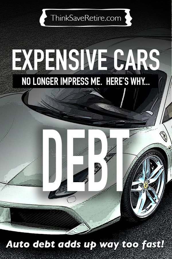 Expensive cars no longer impress me