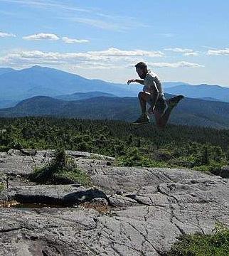 Joe along the Appalachian Trail