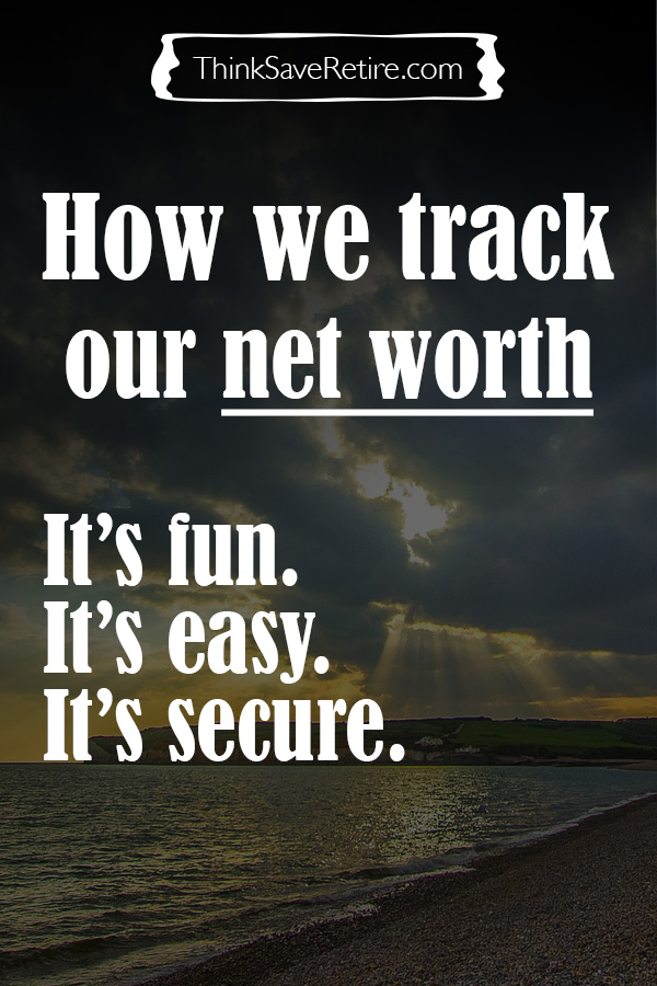 Pinterest: How we track our net worth