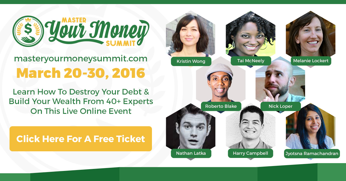 I'm speaking at the Master Your Money Summit - Join in!
