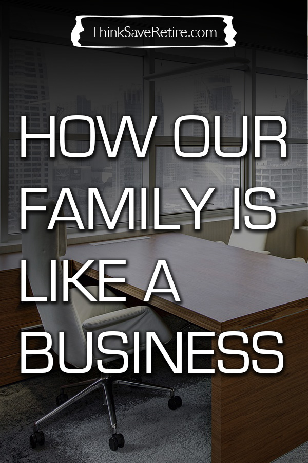 How our family is like a business