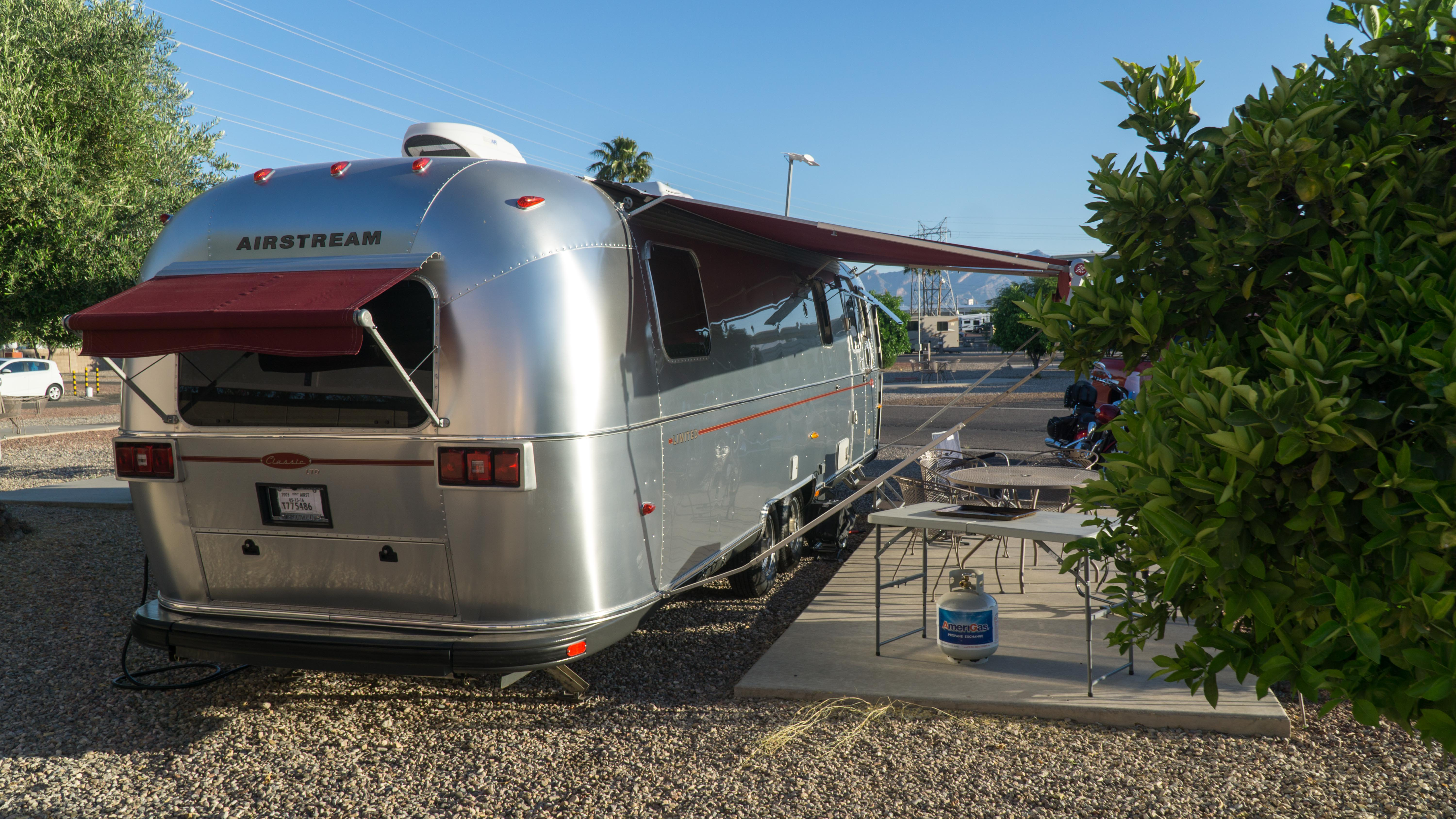 The downside of living in a 200 sqft Airstream