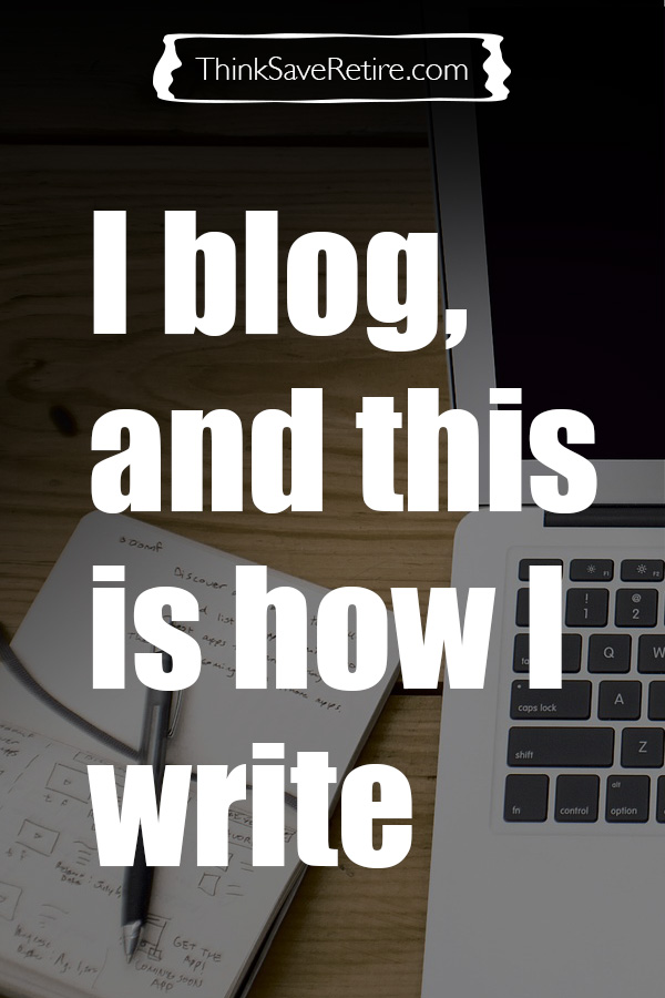 Pinterest: I blog and this is how I write