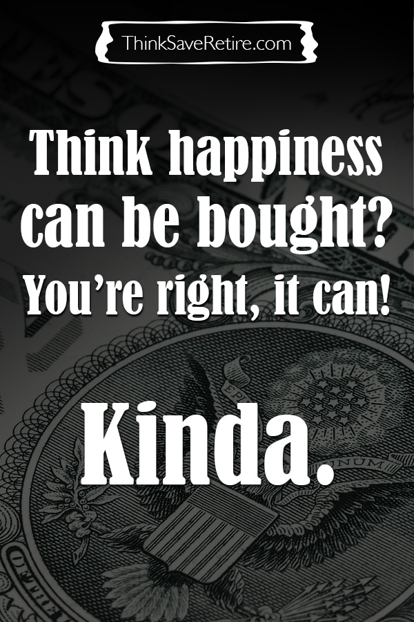 Pinterest: Think happiness can be bought? It can, kinda!