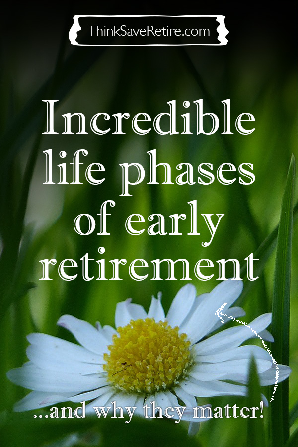 Pinterest: Incredible life phases of early retirement