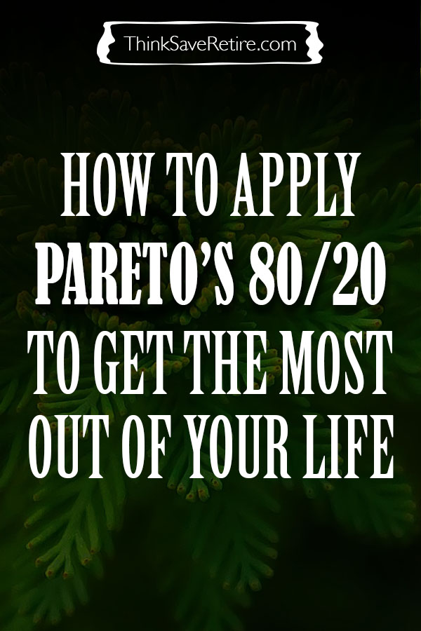 Pinterest: How to apply the Pareto Principle to your life