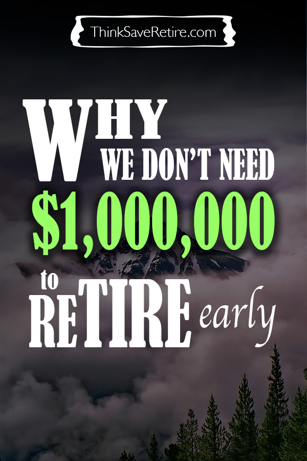 Pinterest: Why we don't need a million to retire early