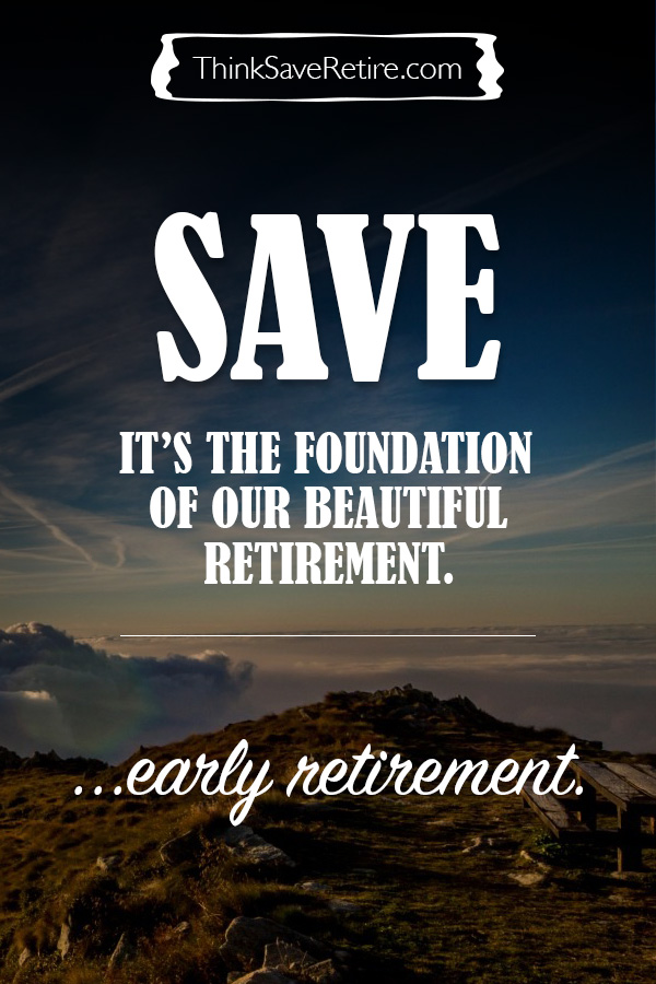 Pinterest: Save money for early retirement