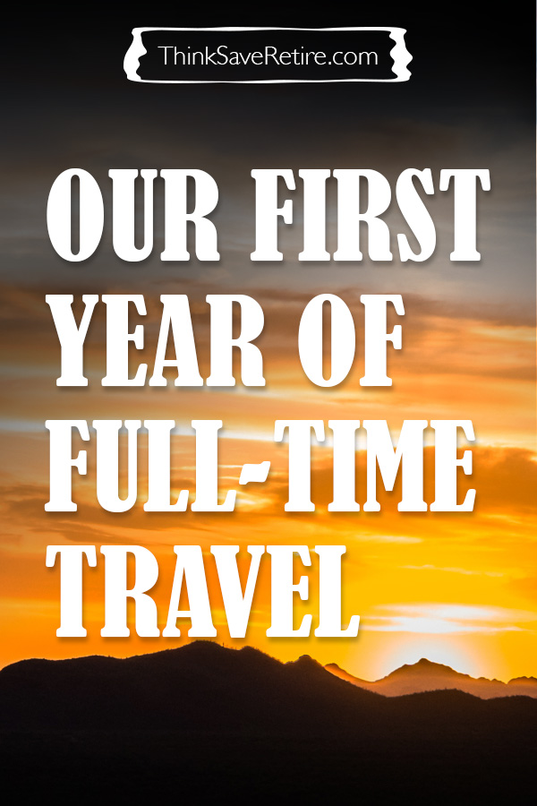 Pinterest: Our first year of full time travel