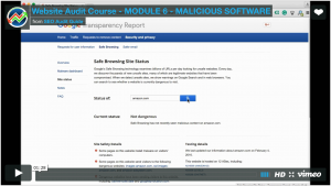 Testing for malicious software