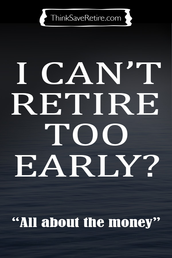 Pinterest: Why I can't retire too early