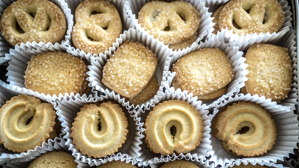 Free Danish butter cookies for all!
