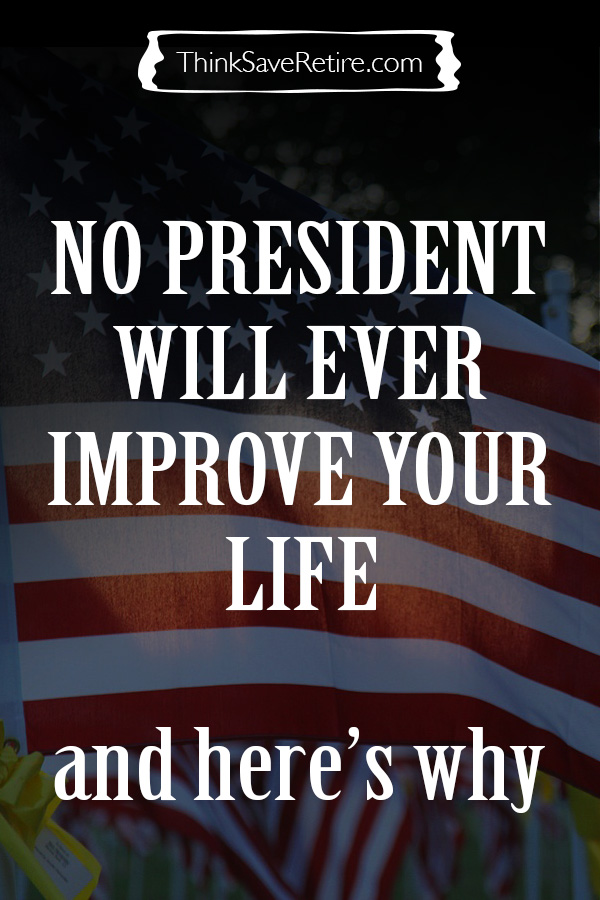 Pinterest: No U.S. president will improve your life