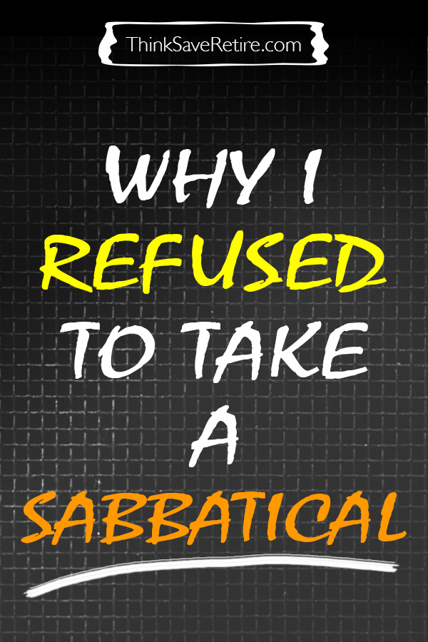 Pinterest: Why I refused to take a sabbatical