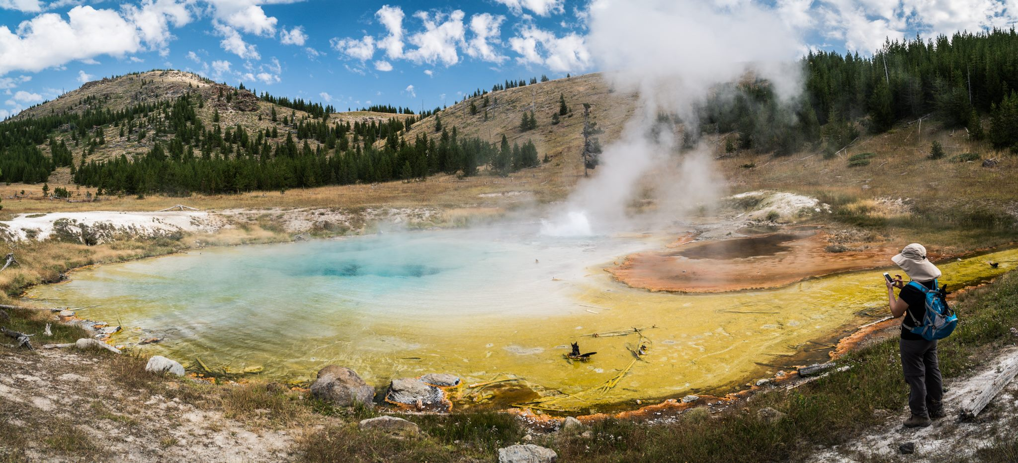 An inspiring story from a Yellowstone geyser