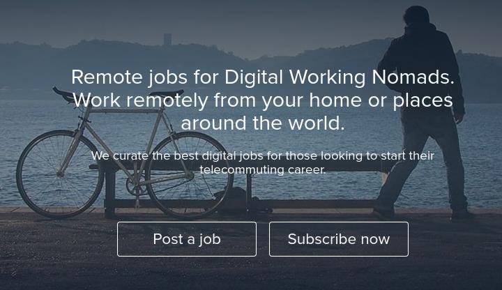 Digital nomad jobs: WorkingNomads.co