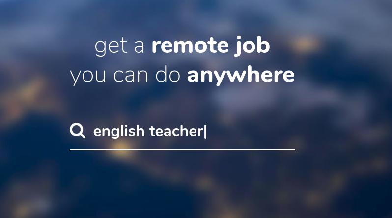 Digital nomad jobs: RemoteOk.io